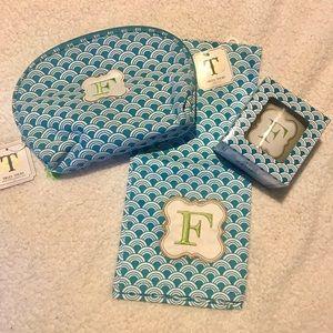 Monogram Cosmetic Bag Set